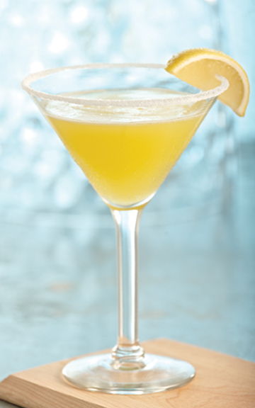 Applebees Lemon Drop Martini Drink Cocktail