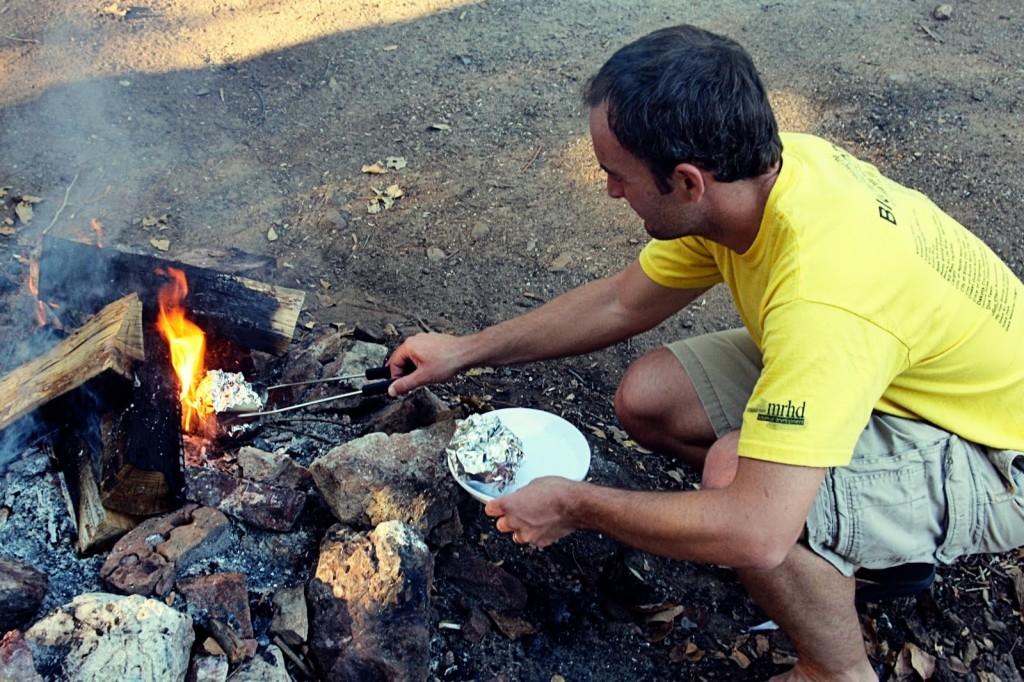 Orange Cake Campfire