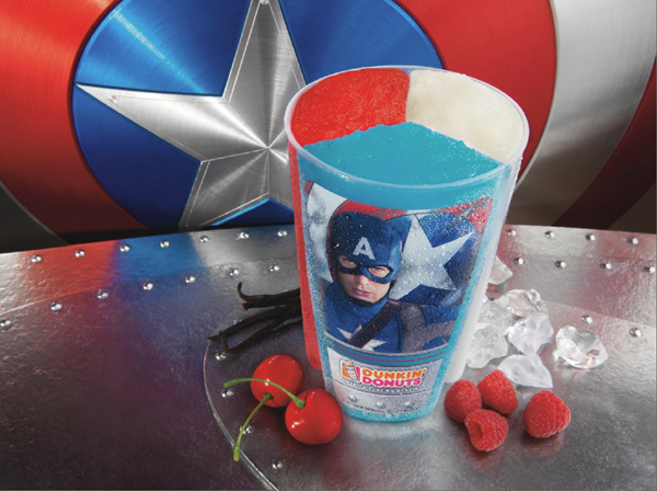 Tri Color Captain America Cup