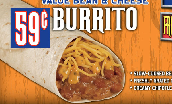 Bean And Cheese Burrito Del Taco Del Taco's ...