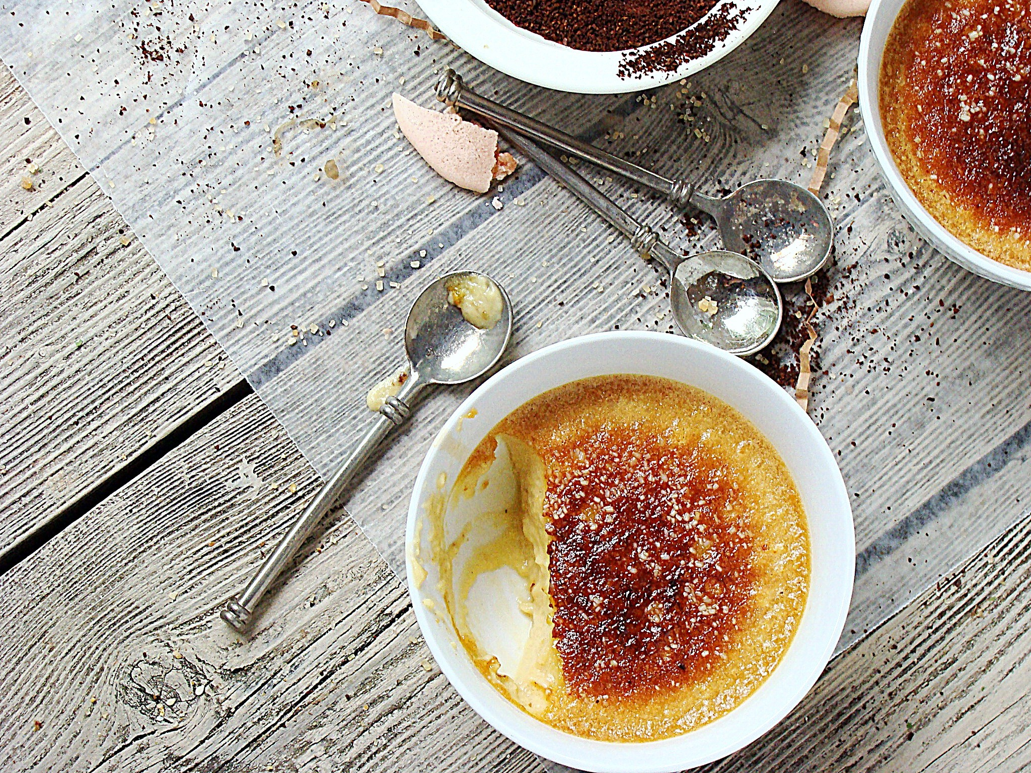 Fancy names intimidate me – amuse bouche, crème anglaise ...