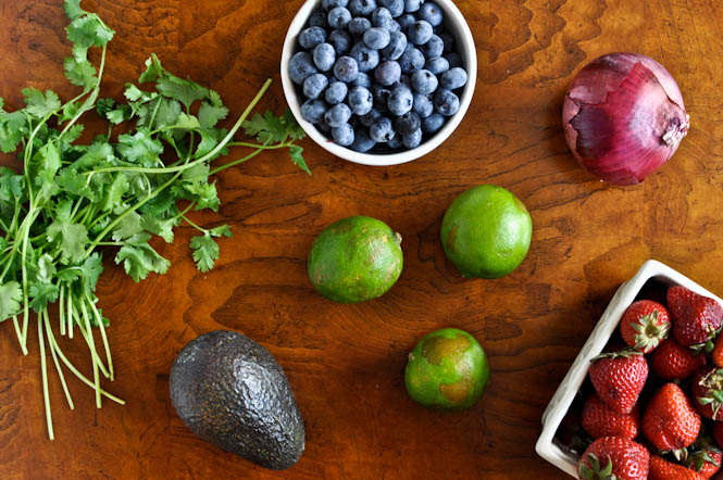 blueberry lime salsa ingredients