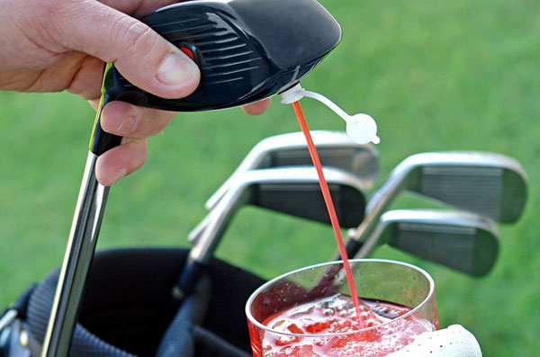 Electronic Golf Club Kooler Caddie