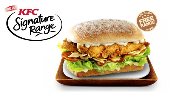 "KFC Australia Introduces ""Signature Range"" Chicken Sandwiches - photo#34"