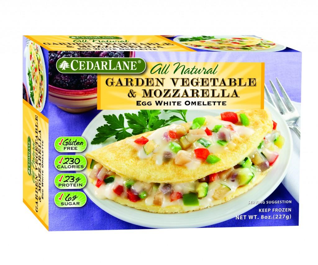 Cedarlane Garden Vegetable & Mozzerella Egg White Omelette
