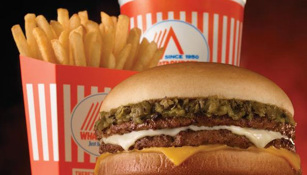 Whataburger Chain Reveals a Limited Time Green Chile Double