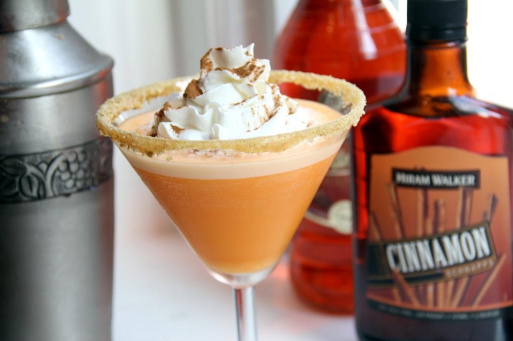 pumpkin cheesecaketini