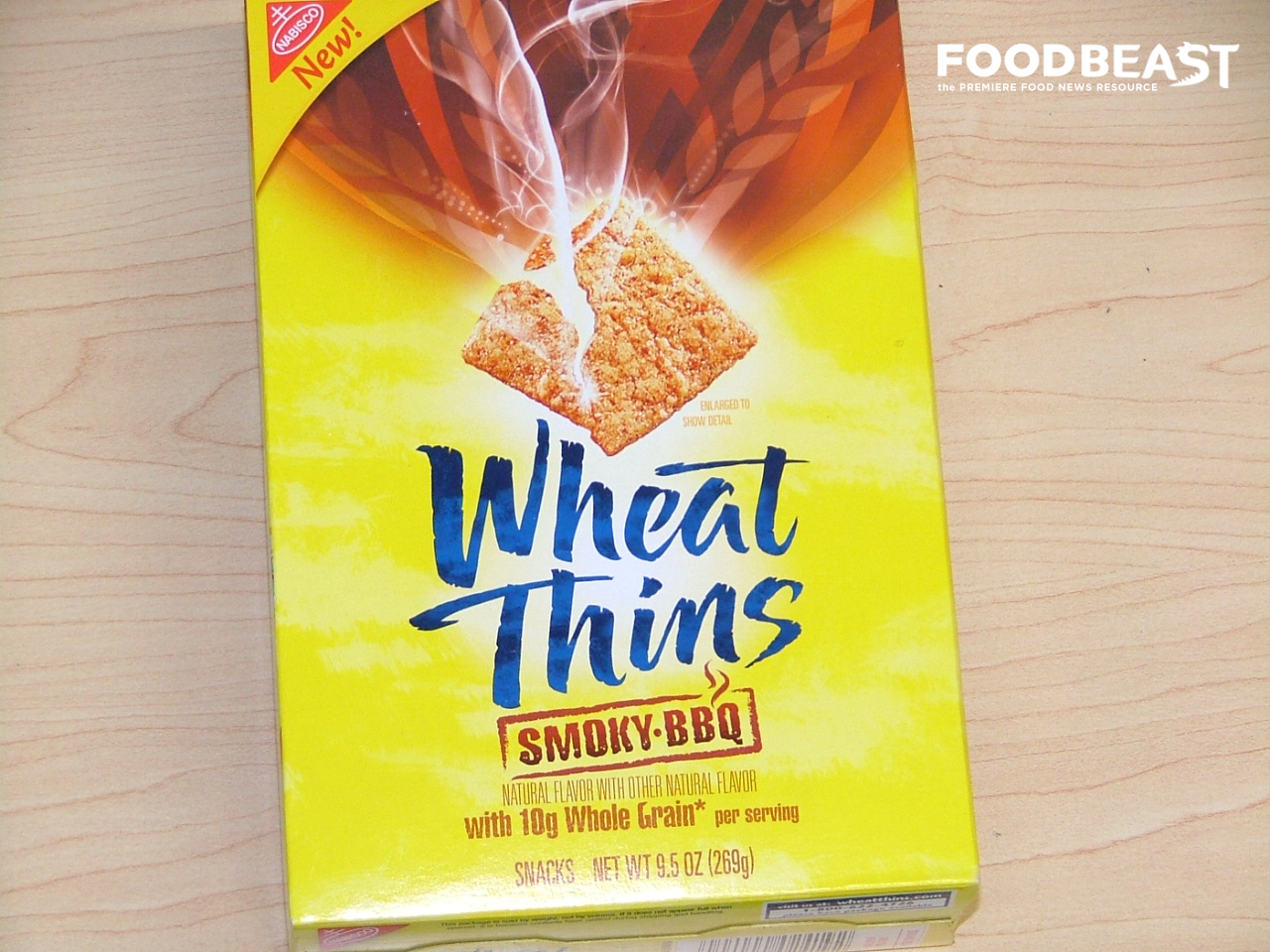 Wheat Thins Launches New 'Smoky BBQ' Flavor | 1280 x 960 jpeg 781kB