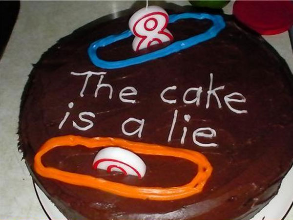 The Cake Is A Lie Payday