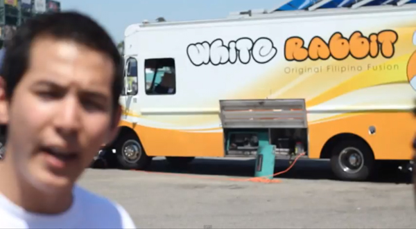 White Rabbit Truck OC Foodie Fest