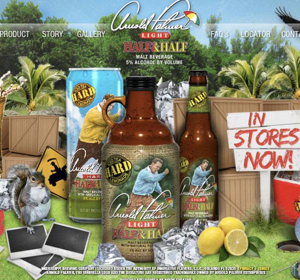 Arnold Palmer Goes Alcoholic