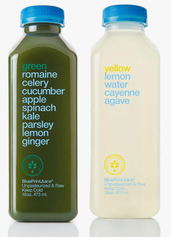 Minimalist Juice Boxes Use Ingredients In Design
