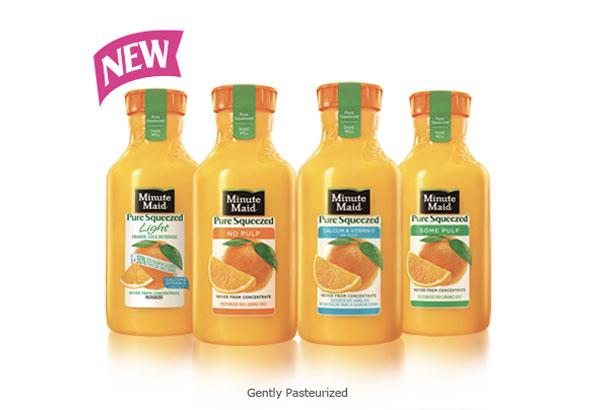 Minute Maid Pure Squeezed Orange Juices
