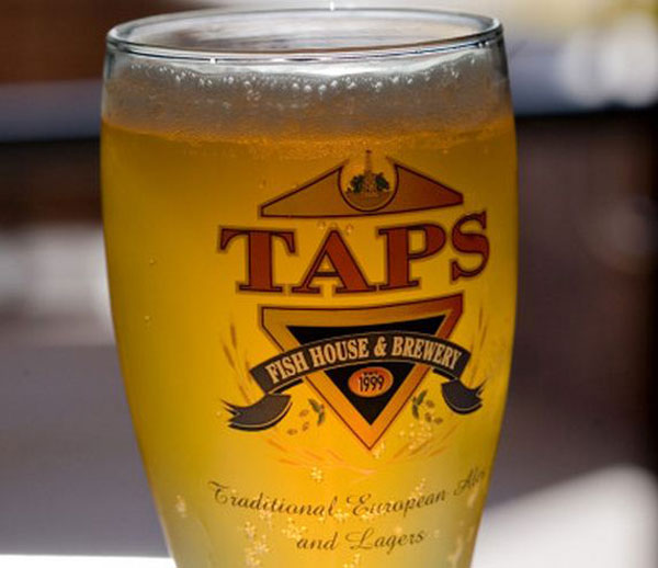Taps fish house brewery makes plans to expand for Secret fish in tap tap fish