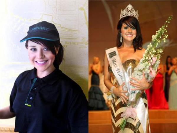 Subway Sandwich Artist Crowned Miss Wales!