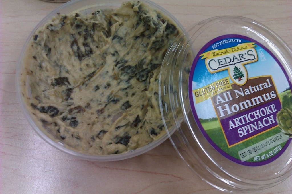 Cedar's Mediterranean Artichoke and Spinach Hommus Hummus