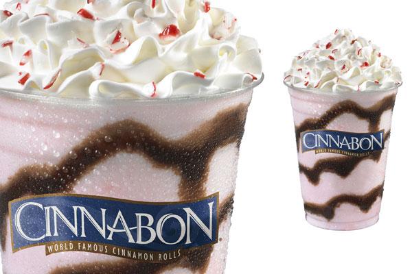 Cinnabon Peppermint Creamy Chillata