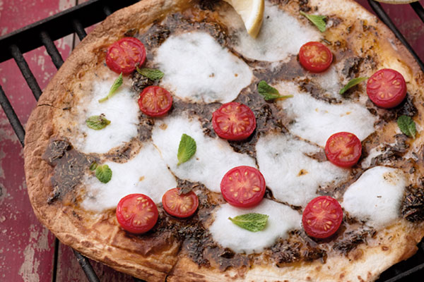 John Gregory Smith Mighty Spice Lebanese Pizza Recipe
