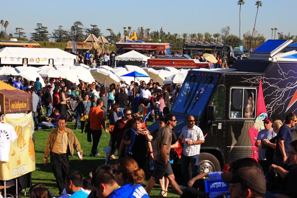 Santa Anita Food Truck Festival Adventure