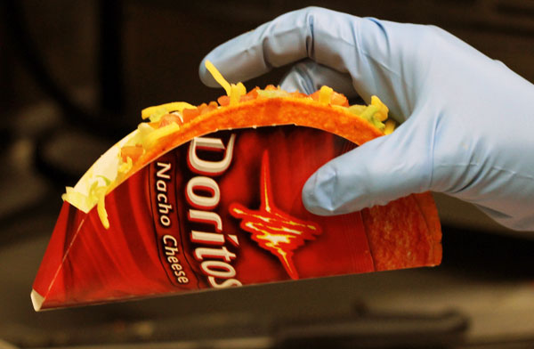 Nacho cheese doritos