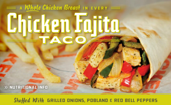 Whataburger introduces chicken fajita taco to menu