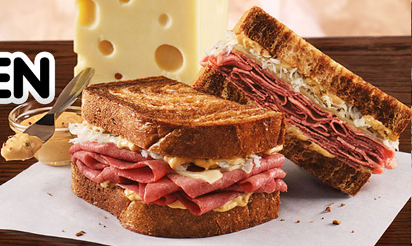 if you haven t had the market fresh reuben sandwich from arby s this ...
