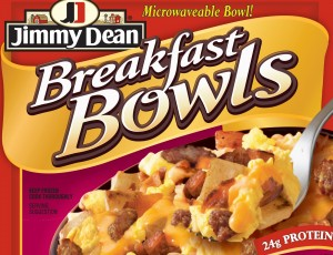 Jimmy Dean Frozen Breakfast Bowl Meat Lovers Bacon Sausage Egg