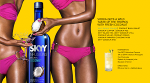 SKYY Infusions Vodka Natural Coconut