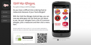 Hold The Allergen Android Application App