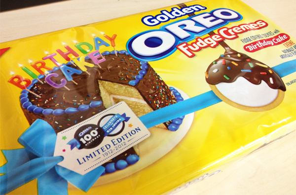 Calories In Birthday Cake Oreo Image Inspiration of Cake and