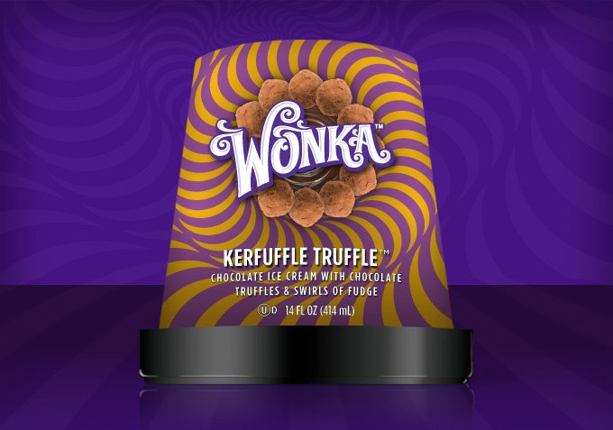 Wonka Ice Cream Launches With Seven Flavors None Of Which