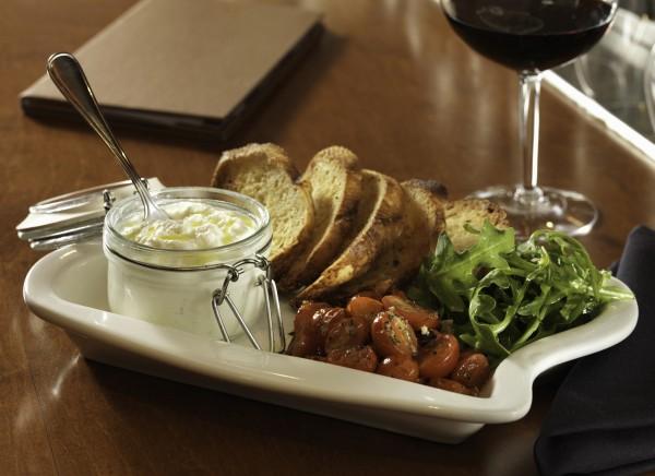 flemings bar la carte menu housemade burrata