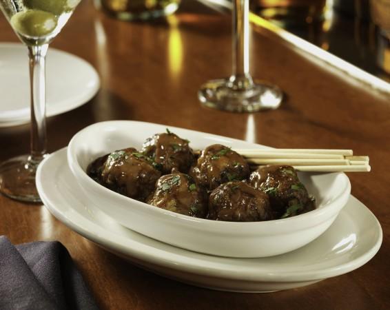 Fleming's Bar La Carte Menu Prime Steakhouse Meatballs