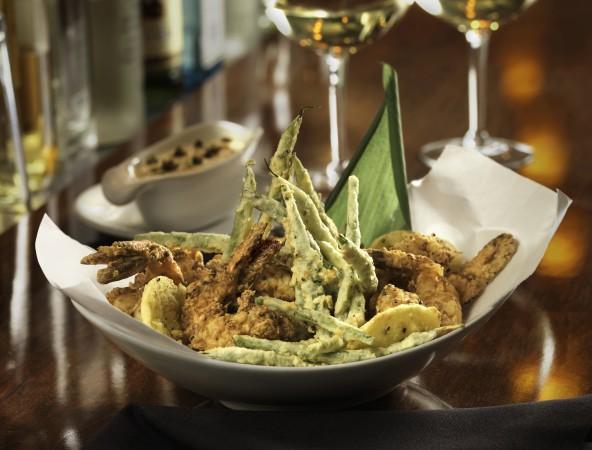 Salt and Pepper Shrimp Fleming's Bar La Carte Menu