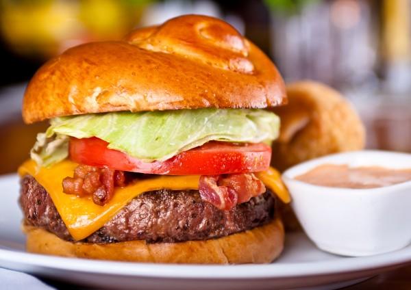 Fleming's bar la carte menu prime burger