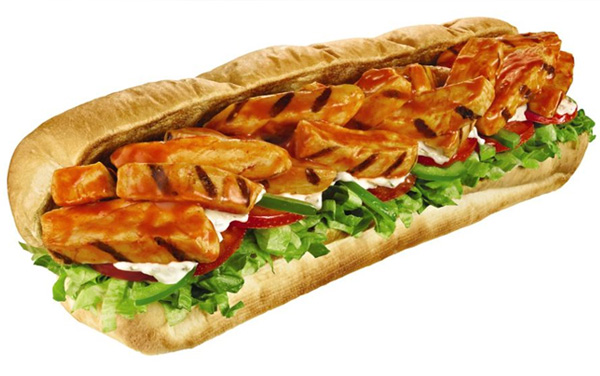 Subway Buffalo Chicken Sandwich