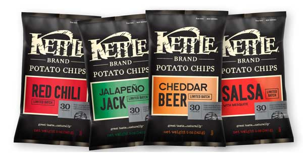 kettle brand potato chips jalapeno jack red chili cheddar beer salsa mesquite