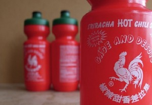 Sriracha Water Bottle