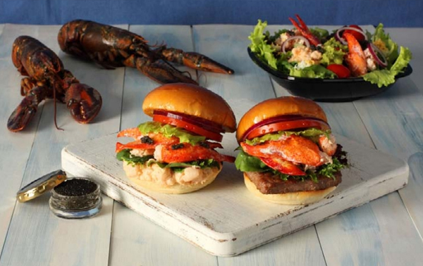 Wendy s Lobster And Caviar Burgers