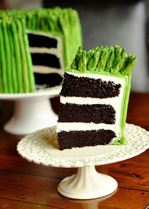 Asparagus-Chocolate-Cake