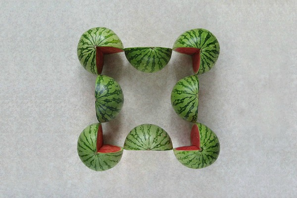 Geometric-Food-Art