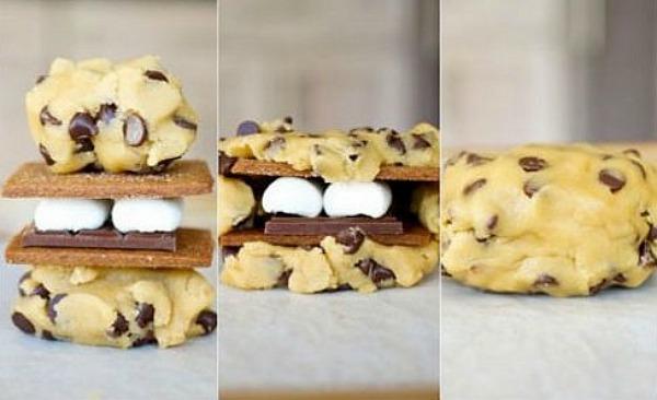 Smore-Chocolate-Chip-Cookies