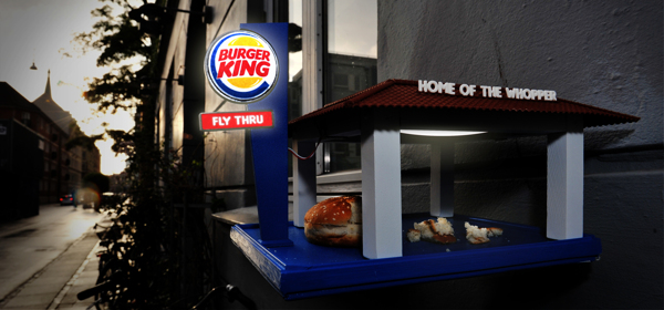 Burger King Bird Feeder