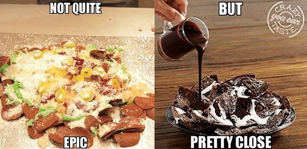 El Pollo Loco&#039;s Chocolate Nachos might rival those of Epic Meal Time&#039;s