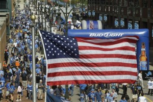 bud light american flag