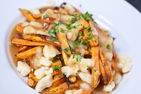 32. Sweet Potato Poutine
