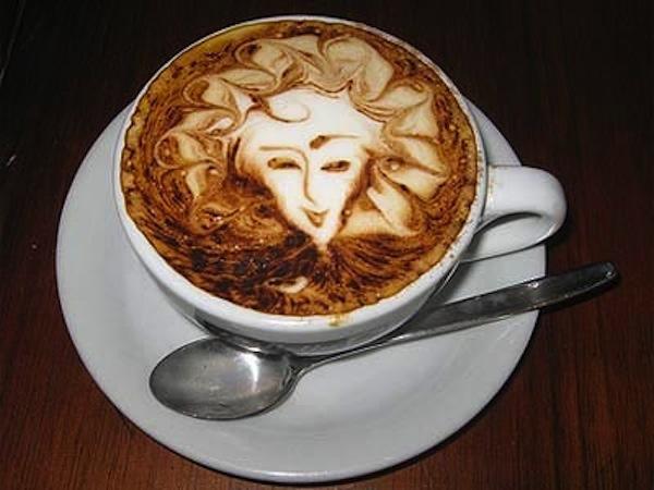Woman Cappuccino