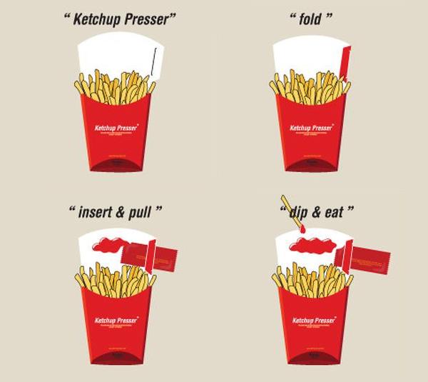 Ketchup-Presser
