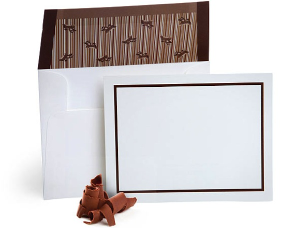 Chocolate Envelopes
