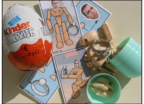 kinder egg top